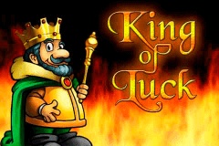 logo alles spitze king of luck merkur