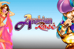 logo arabian rose microgaming casino spielautomat
