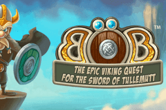 logo bob the epic viking quest netent