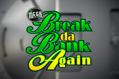 logo break da bank again megaspin microgaming casino spielautomat