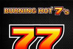 logo burning hot sevens novomatic