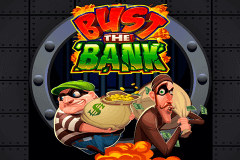 logo bust the bank microgaming casino spielautomat
