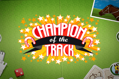 logo champion of the track netent casino spielautomat