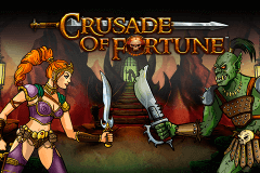 logo crusade of fortune netent