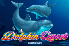 logo dolphin quest microgaming casino spielautomat