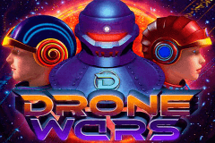 logo drone wars microgaming casino spielautomat