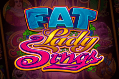 logo fat lady sings microgaming