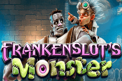 logo frankenslots monster betsoft