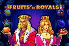logo fruitsn royals novomatic