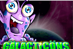 logo galacticons microgaming casino spielautomat