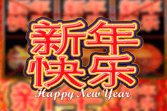 logo happy new year microgaming casino spielautomat