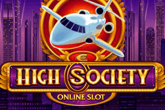 logo high society microgaming casino spielautomat