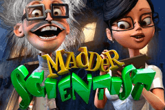 logo madder scientist betsoft casino spielautomat