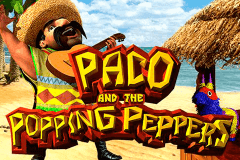 logo paco and the popping peppers betsoft casino spielautomat