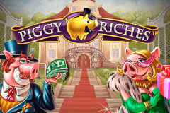 logo piggy riches netent