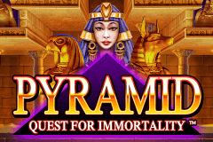 logo pyramid quest for immortality netent casino spielautomat