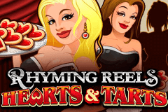 logo rhyming reels hearts and tarts microgaming casino spielautomat