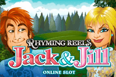 logo rhyming reels jack and jill microgaming casino spielautomat
