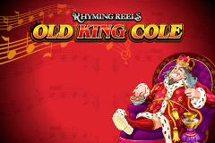 logo rhyming reels old king cole microgaming casino spielautomat