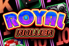 logo royal roller microgaming casino spielautomat