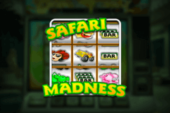 logo safari madness netent