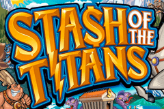 logo stash of the titans microgaming casino spielautomat