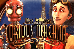 logo the curious machine betsoft casino spielautomat