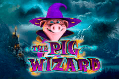 logo the pig wizard blueprint