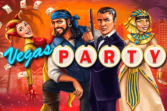 logo vegas party netent casino spielautomat