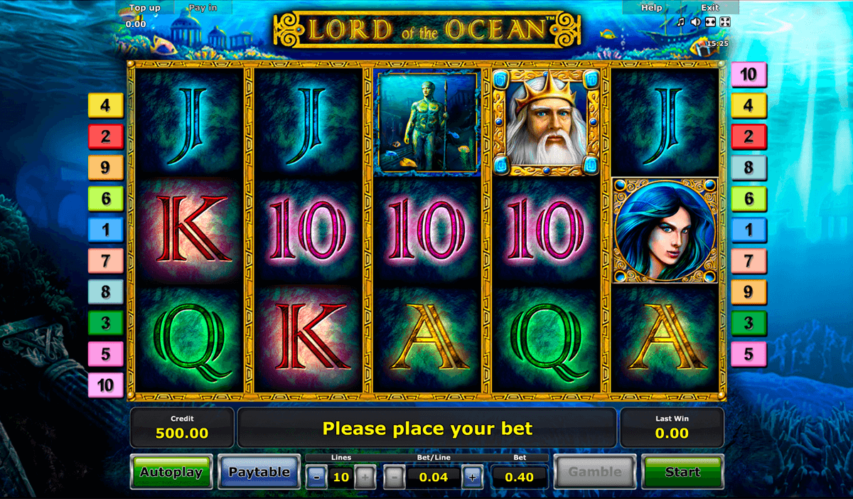 lord of the ocean novomatic online spielen