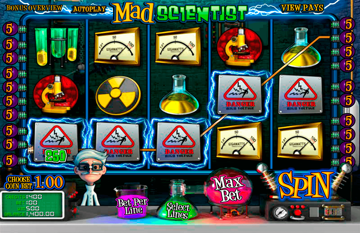mad scientist betsoft online spielen