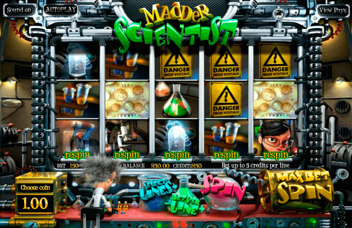 madder scientist betsoft online spielen