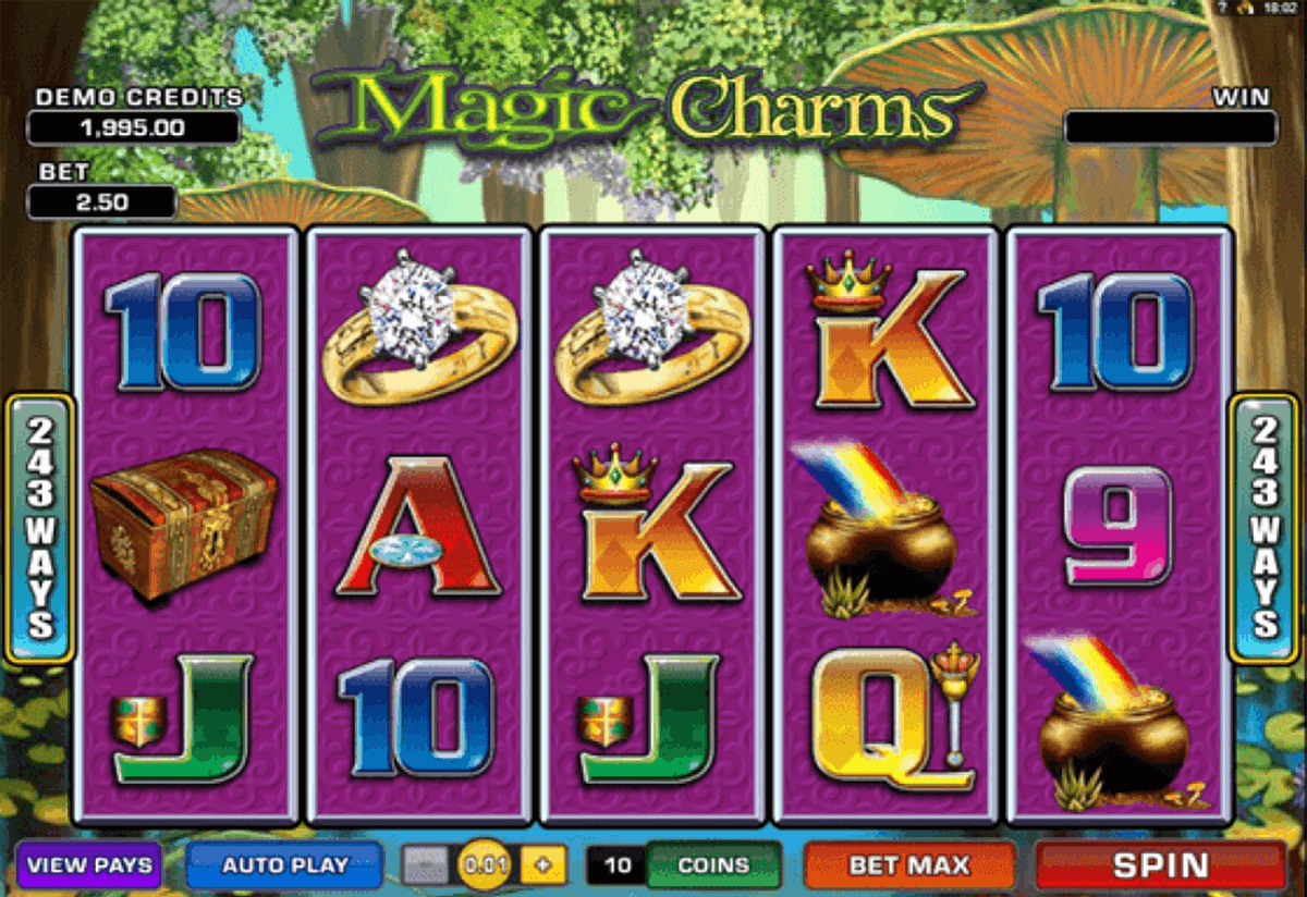 magic charms microgaming online spielen