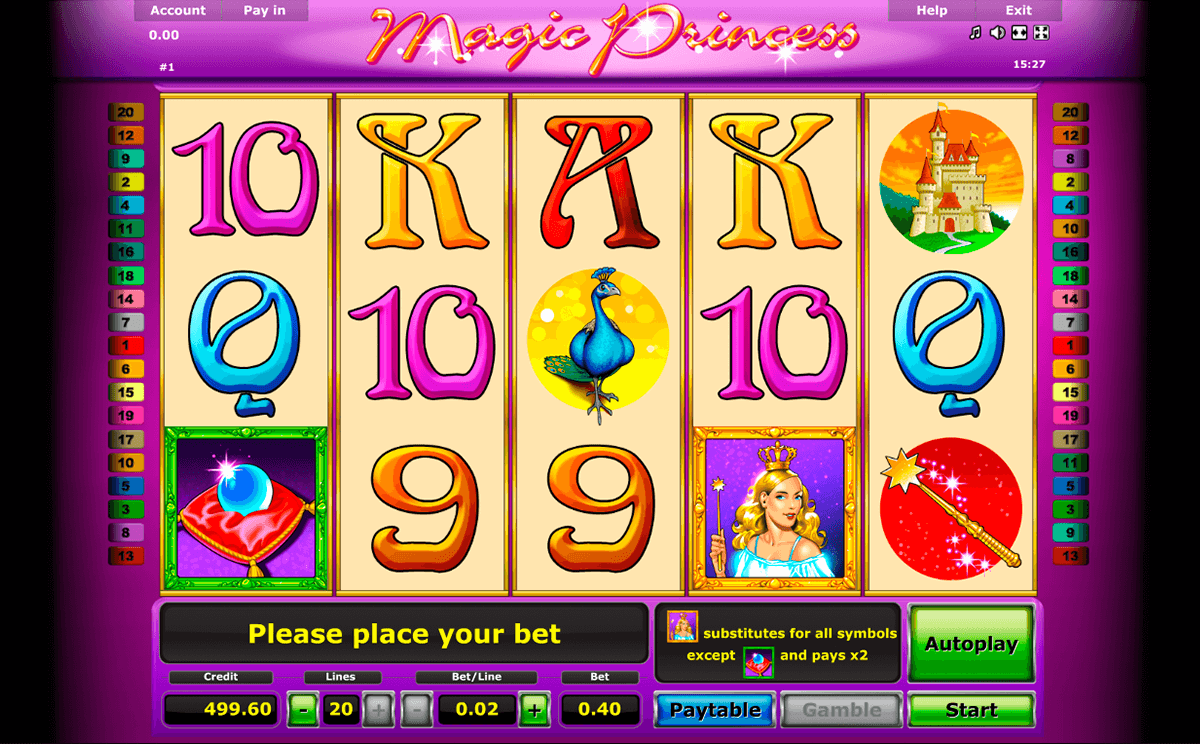 magic princess novomatic online spielen