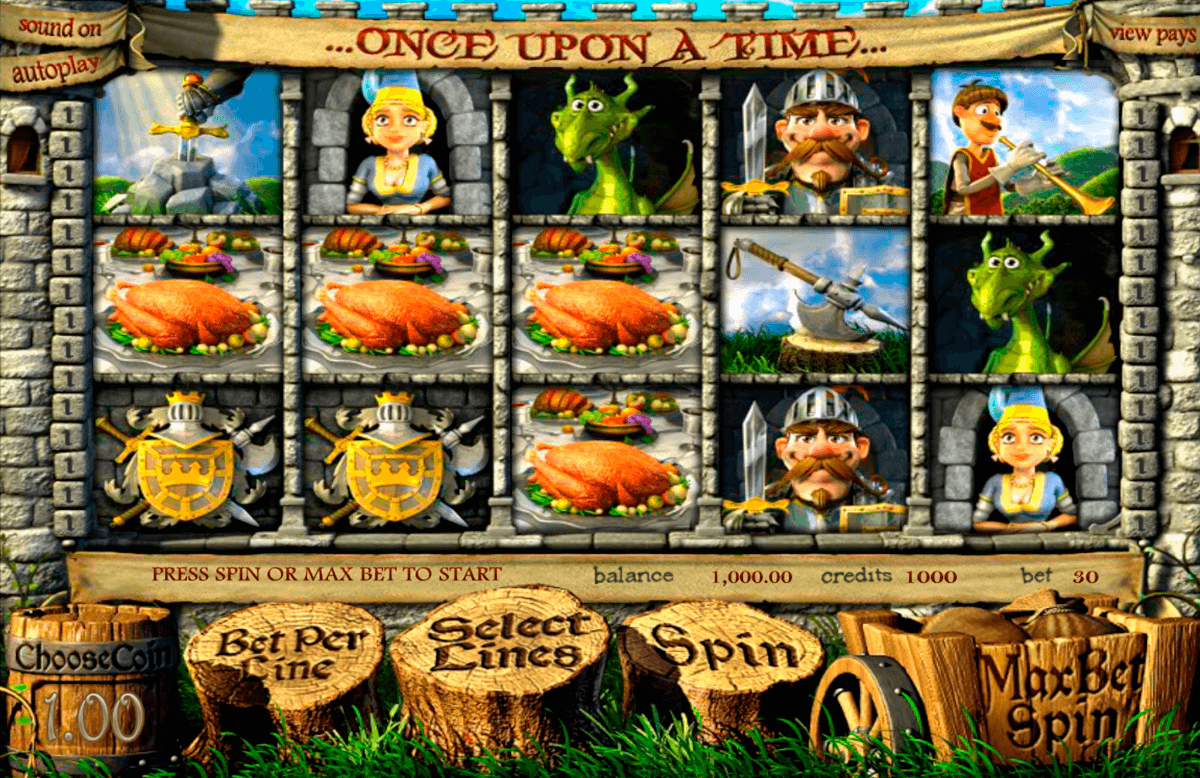 once upon a time betsoft online spielen