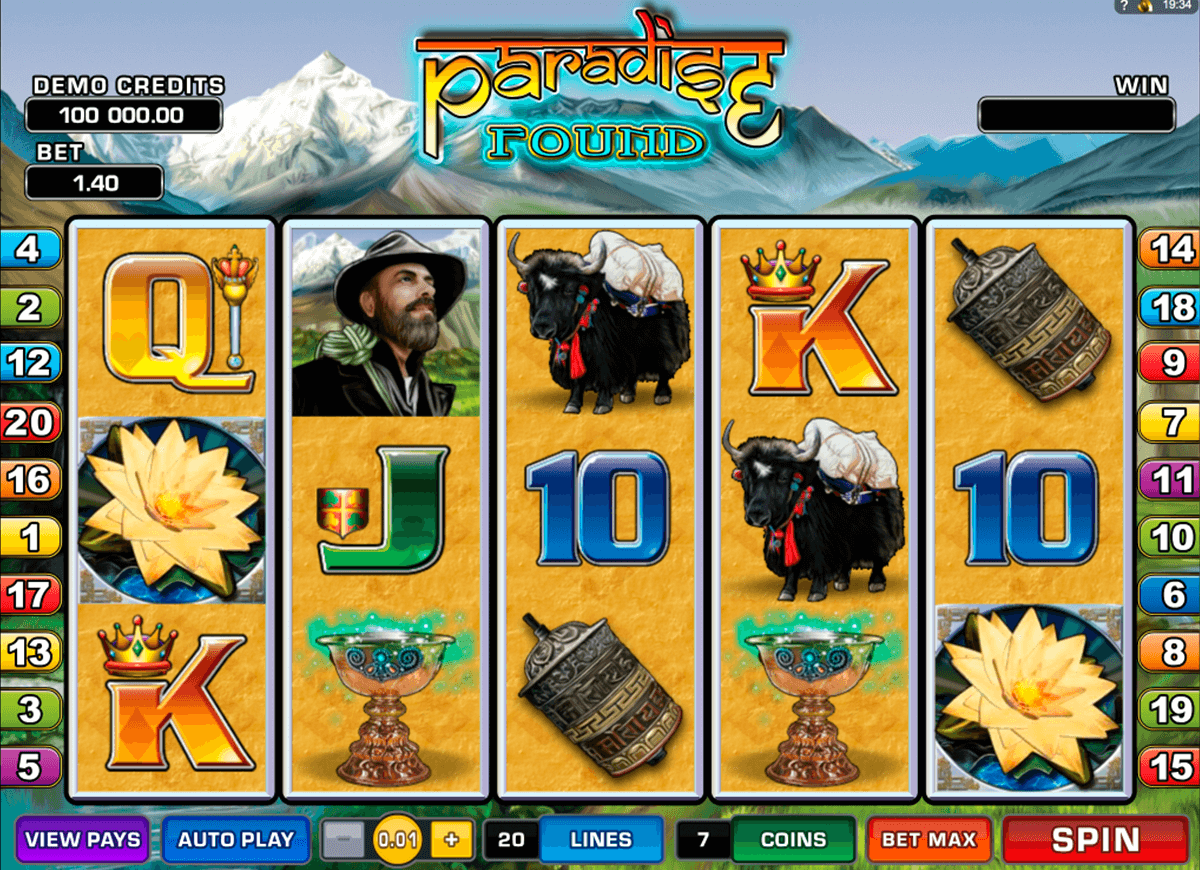 paradise found microgaming