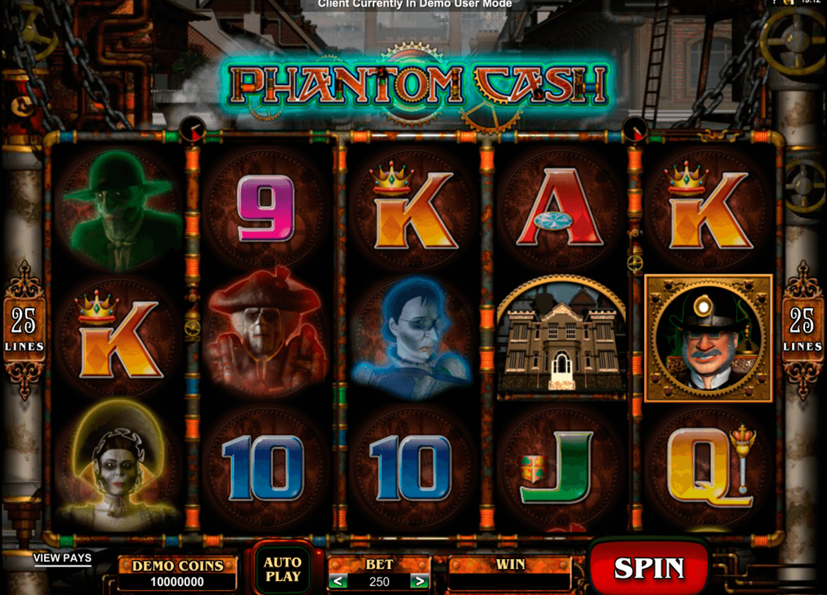 phantom cash microgaming online spielen
