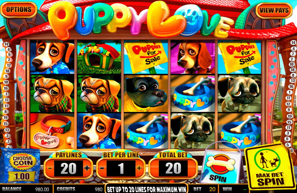 puppy love betsoft online spielen