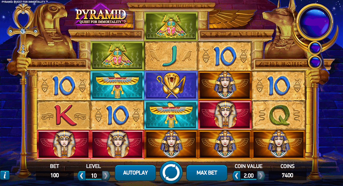 pyramid quest for immortality netent online spielen