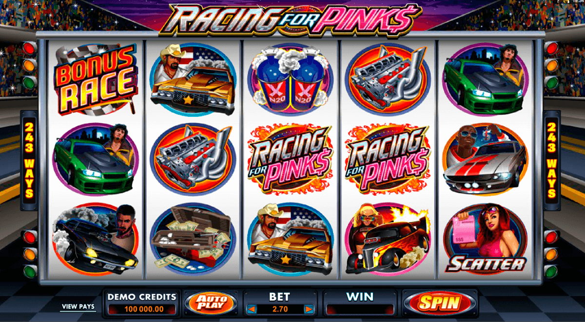 racing for pinks microgaming online spielen