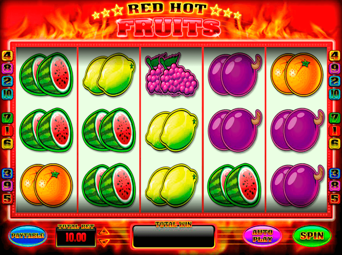 red hot fruits blueprint
