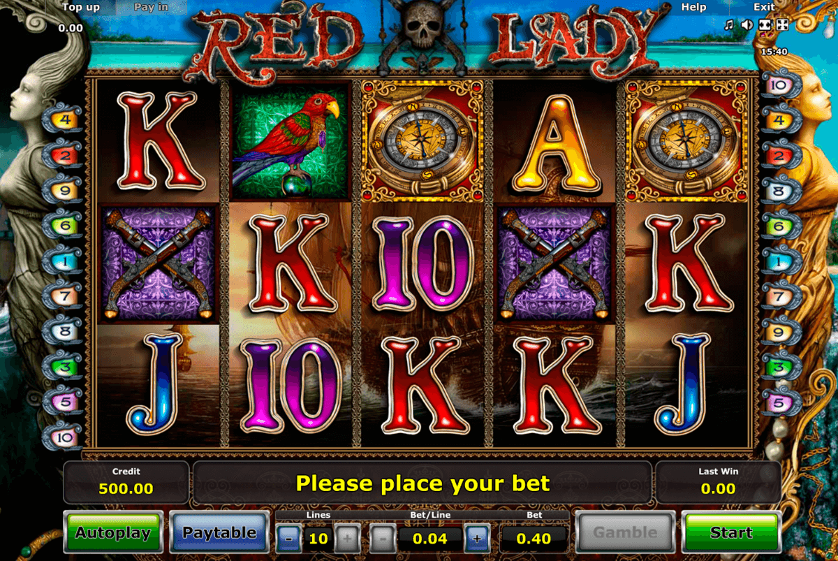 red lady novomatic online spielen