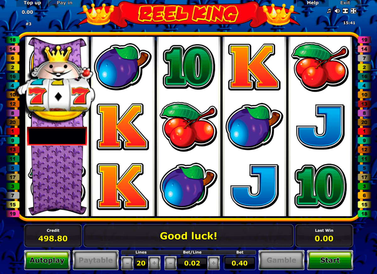 reel king novomatic online spielen
