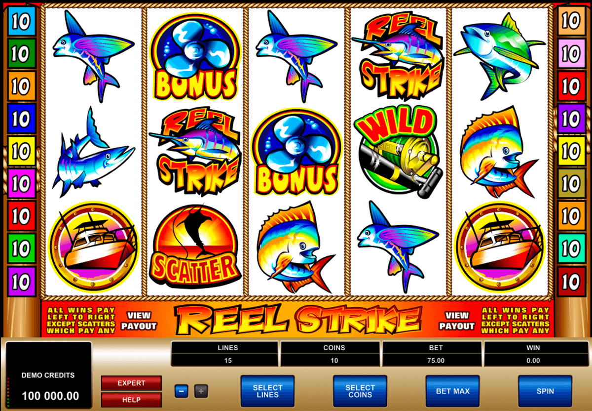 reel strike microgaming online spielen