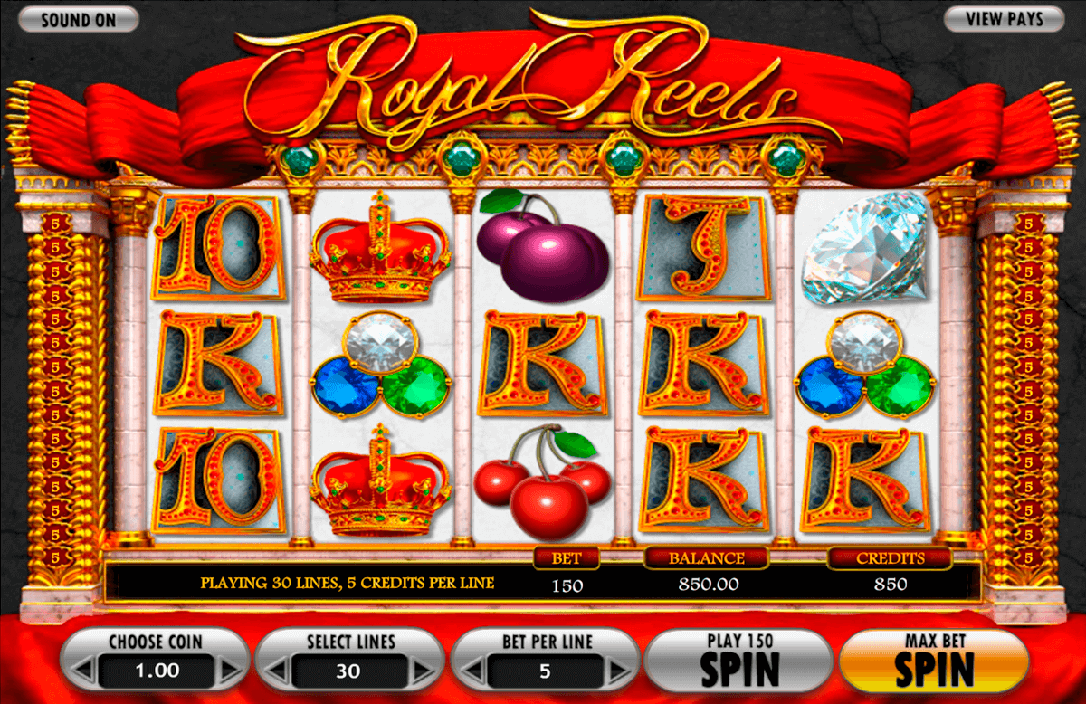 royal reels betsoft online spielen