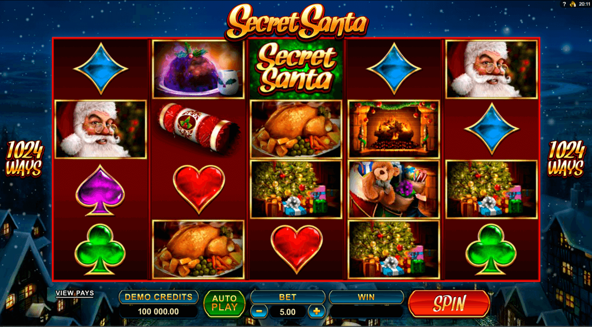 secret santa microgaming online spielen