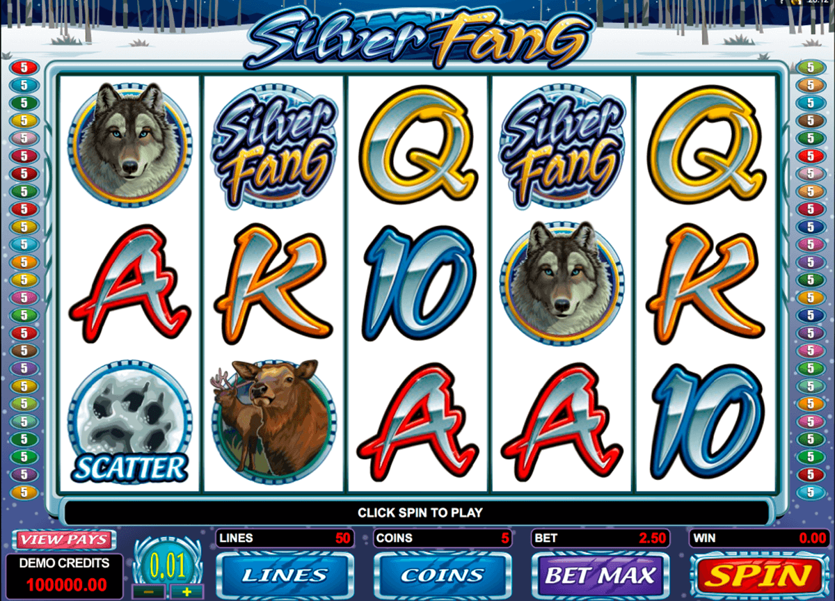 silver fang microgaming online spielen