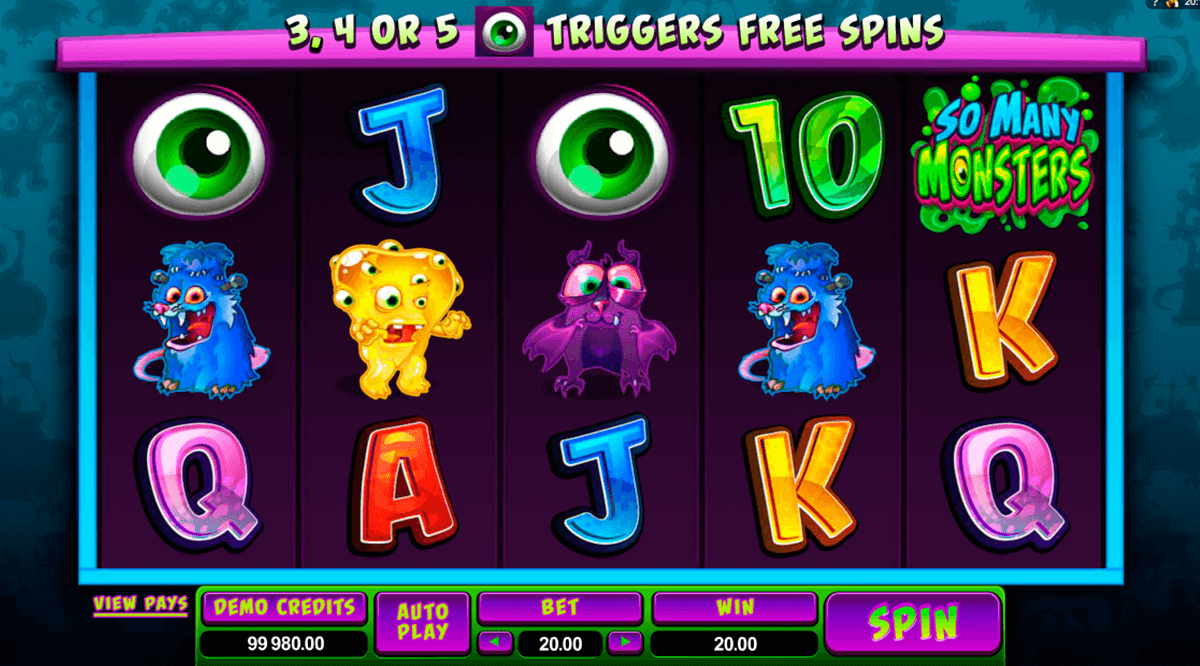 so many monsters microgaming online spielen