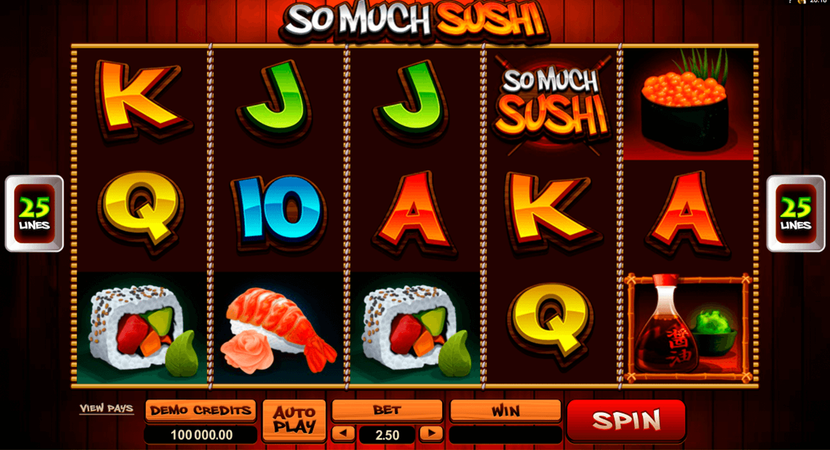 so much sushi microgaming online spielen