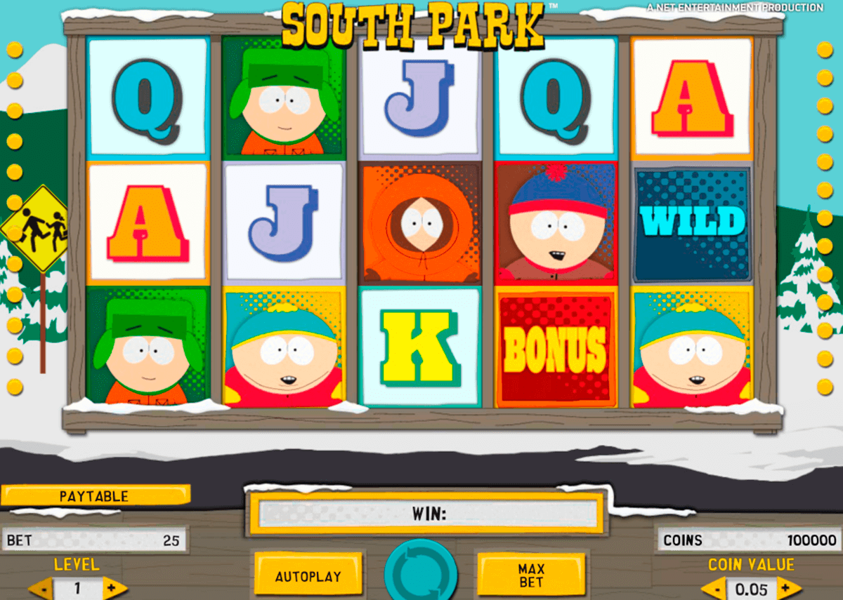 south park netent online spielen